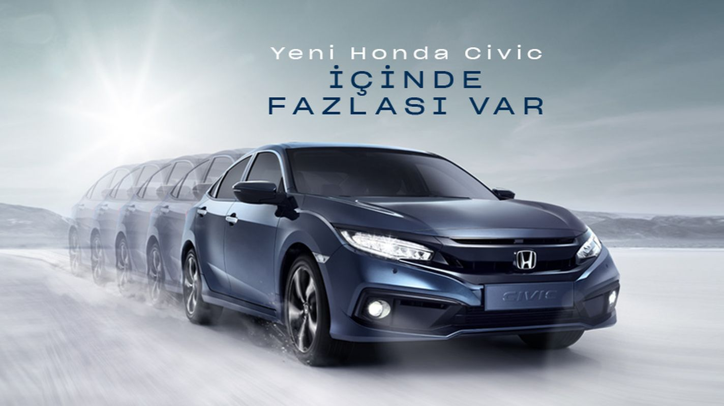 Honda Civic Sedan August Campaign